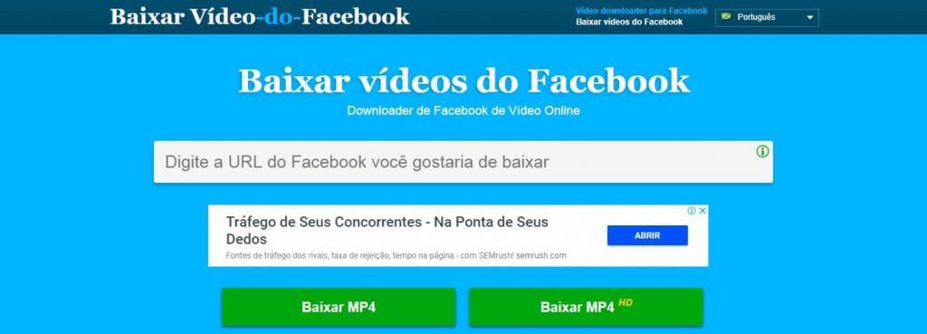 Download Facebook Vídeos