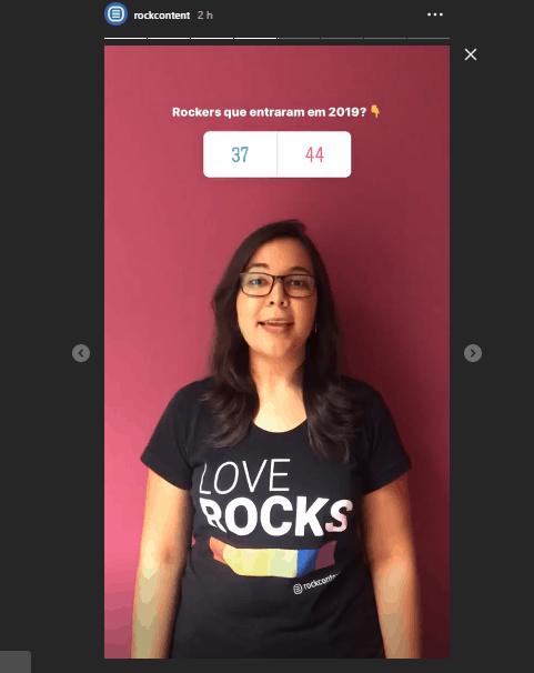 Enquete, funções do instagram stories