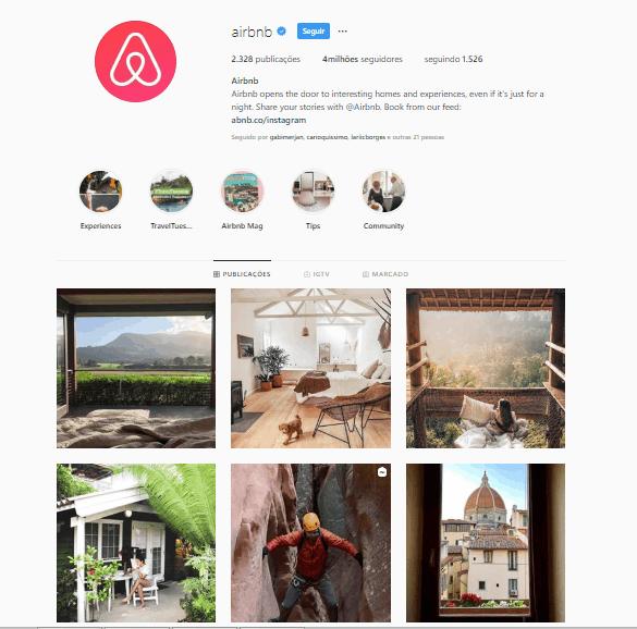 Instagram Airbnb