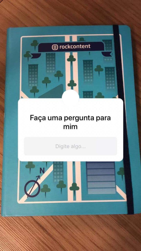 Perguntas, funções do instagram stories