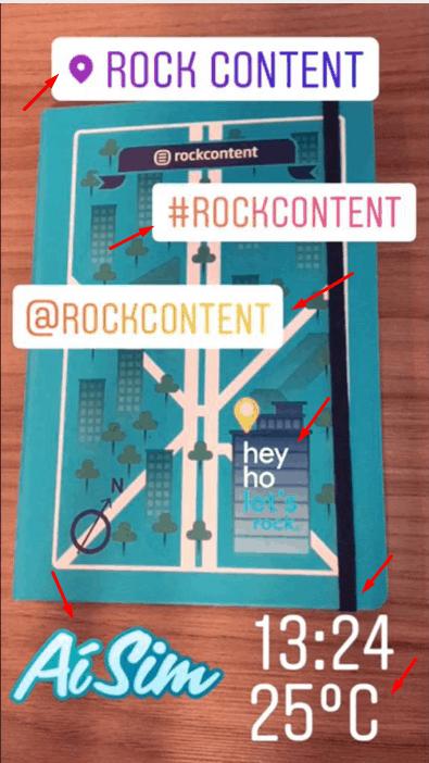 funções do instagram stories