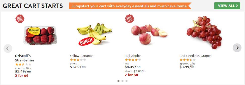 Exemplo de supermercado na Inglaterra