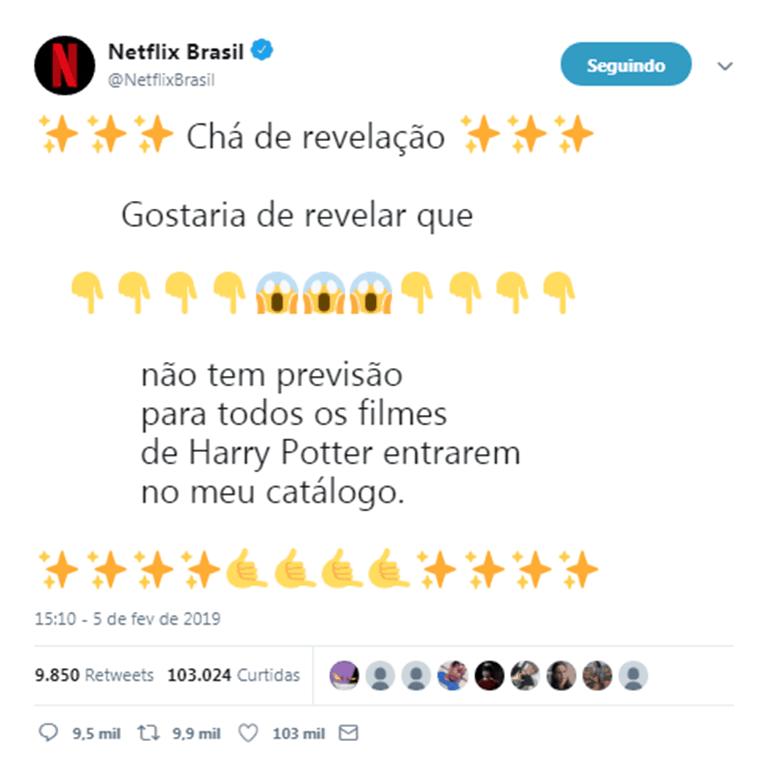 Twitter Netflix