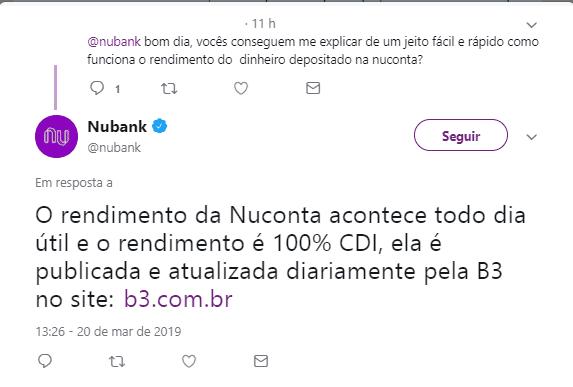 Twitter Nubank