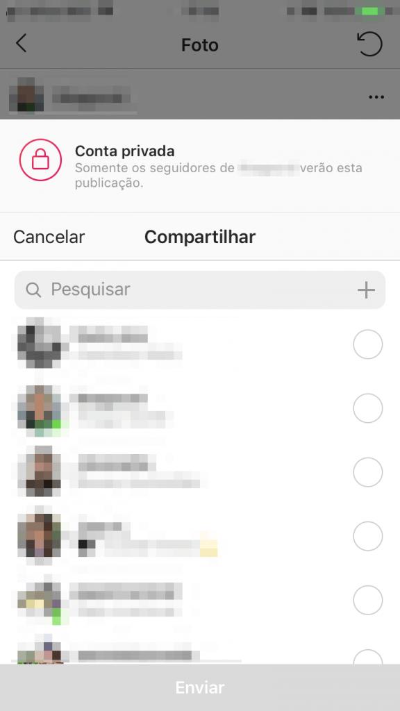 como fazer repostagem no instagram