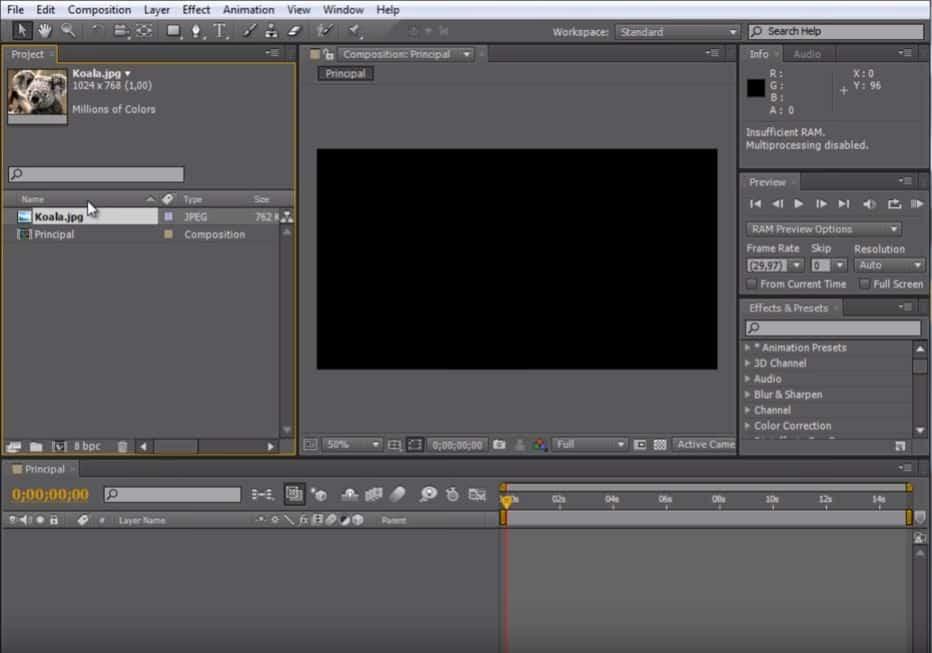 Adobe AE2