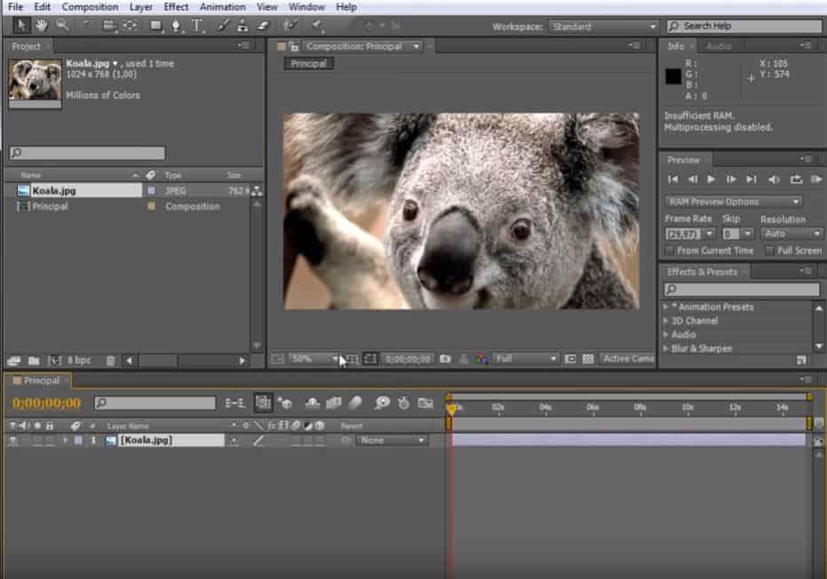 Adobe AE4