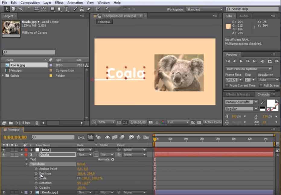 Adobe AE6