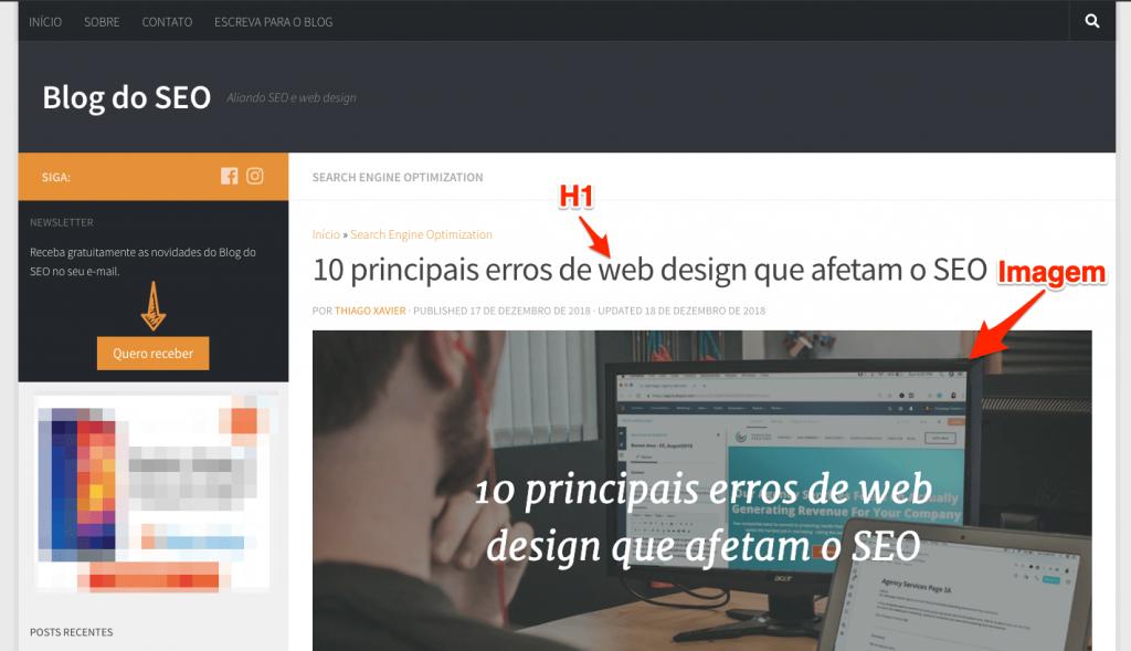 Substituir elementos importantes do HTML por imagens