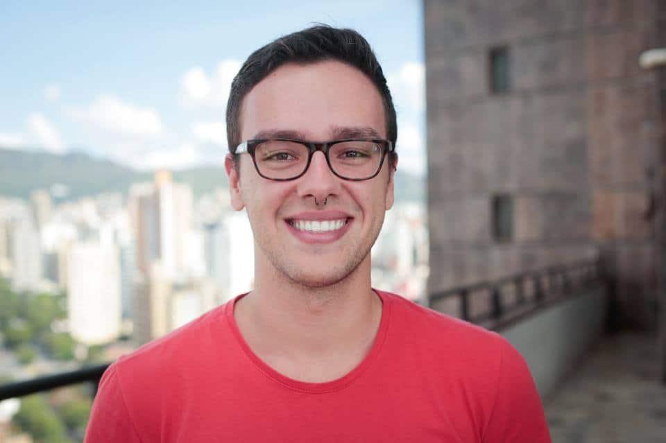 Pedro Galvão, analista de mídias sociais na Rock Content