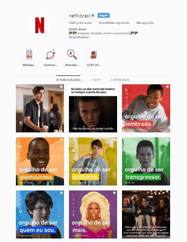 campanha netflix