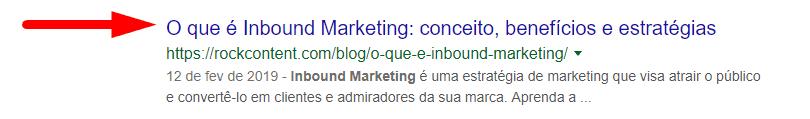 title tag do conteúdo