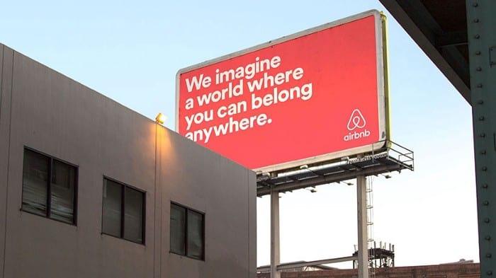 propósito da airbnb
