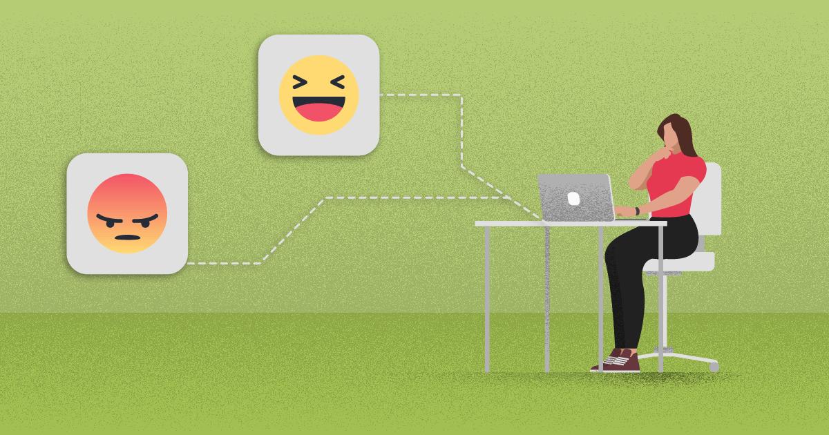 Como lidar com comentários negativos nas redes sociais