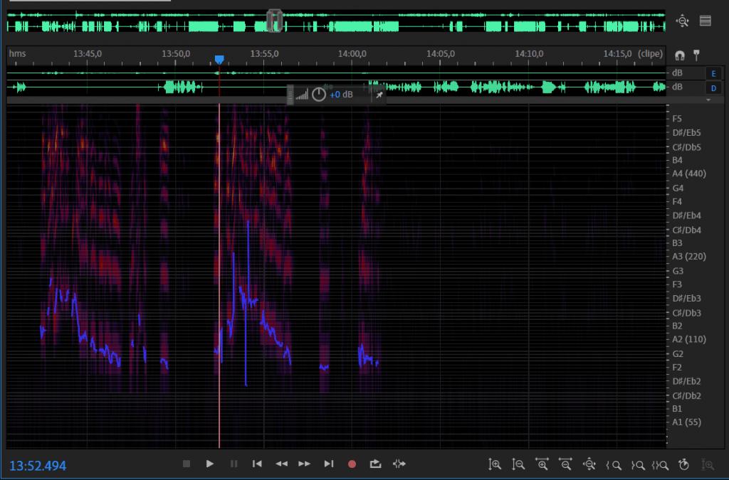 edição de áudio de podcast