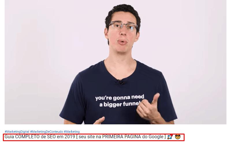 título de vídeo