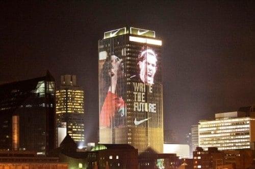 ação da Nike na copa do mundo de 2010
