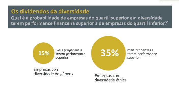 dividendos da diversidade, segundo a McKinsey
