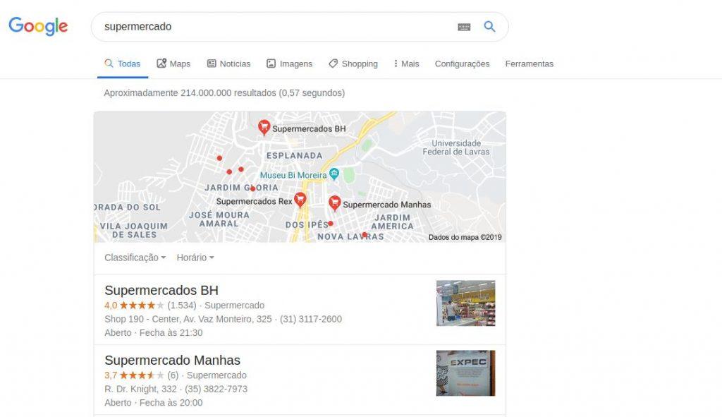 funcionamento do google maps