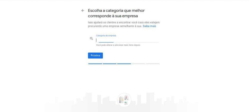 categorias google maps