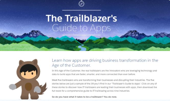 Ebook interativo Salesforce