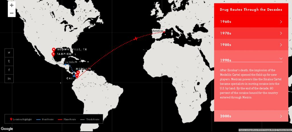 mapas interativos