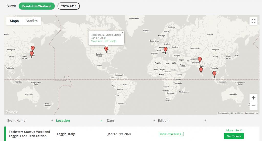 mapa interativo
