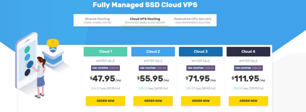 Hospedagem em cloud VPS