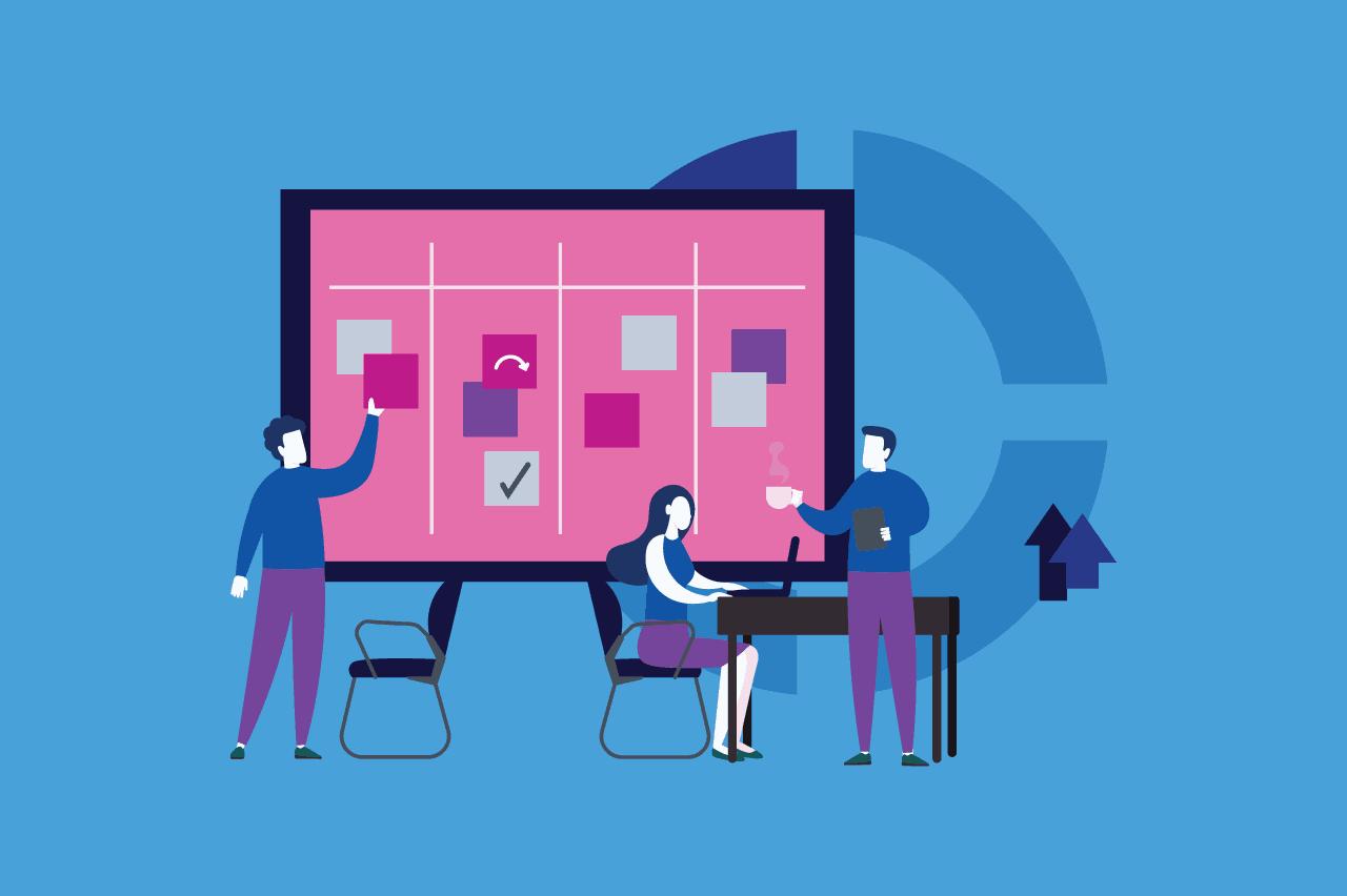 ilustração sobre o analista de planejamento