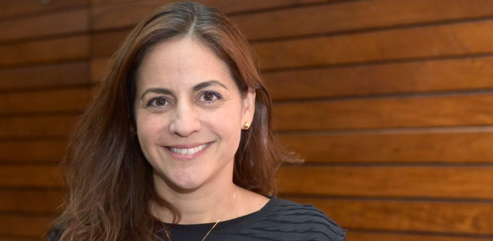 Andrea Siqueira em close