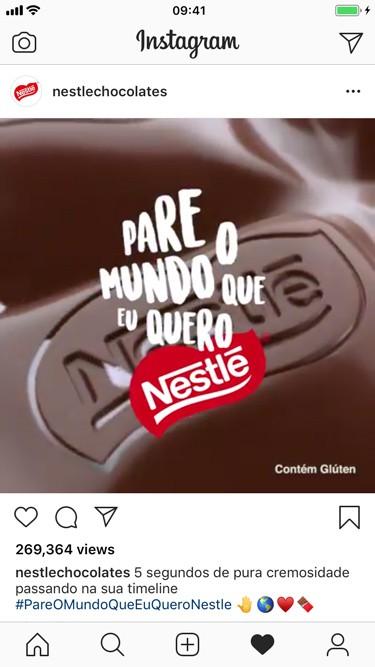case nestle instagram para empresas