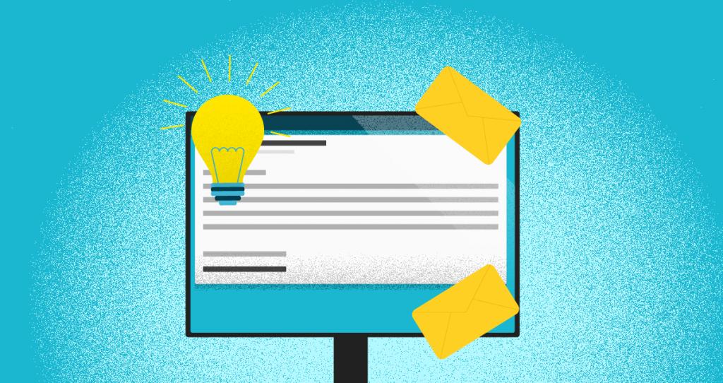 Email marketing interativo