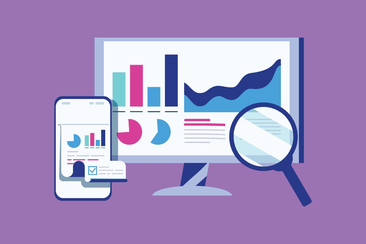 ilustração sobre indicadores de projetos