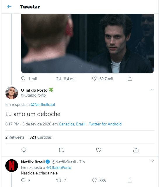 Humanização de marcas caso Netflix.