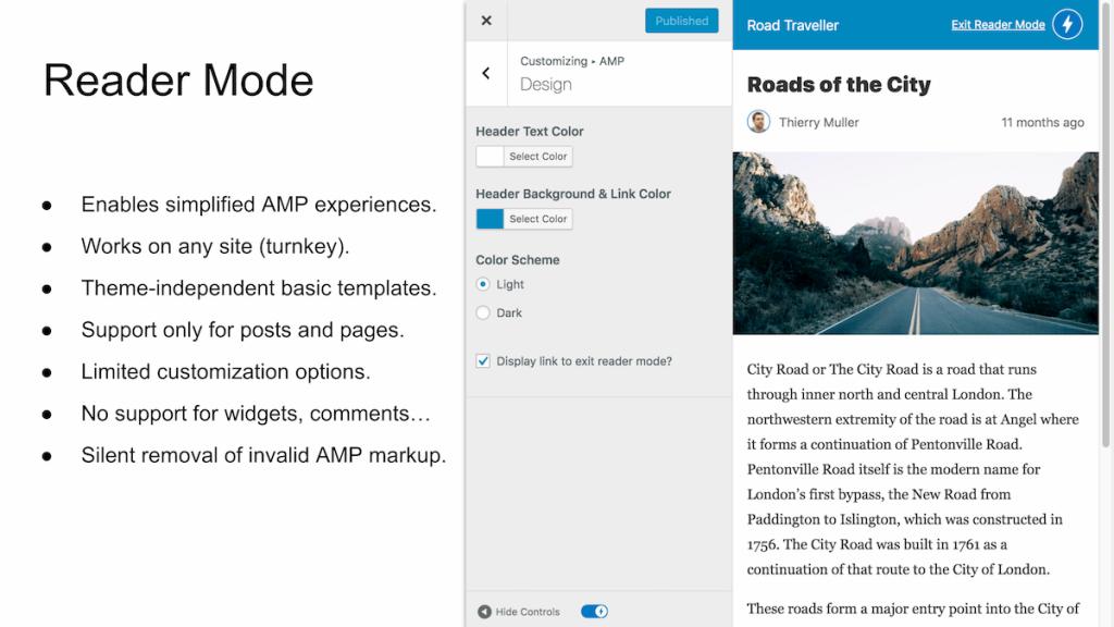 plugin de AMP para wordpress