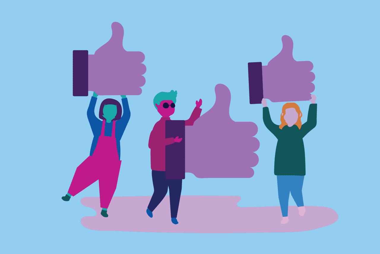ilustração sobre como criar vínculos emocionais com o cliente