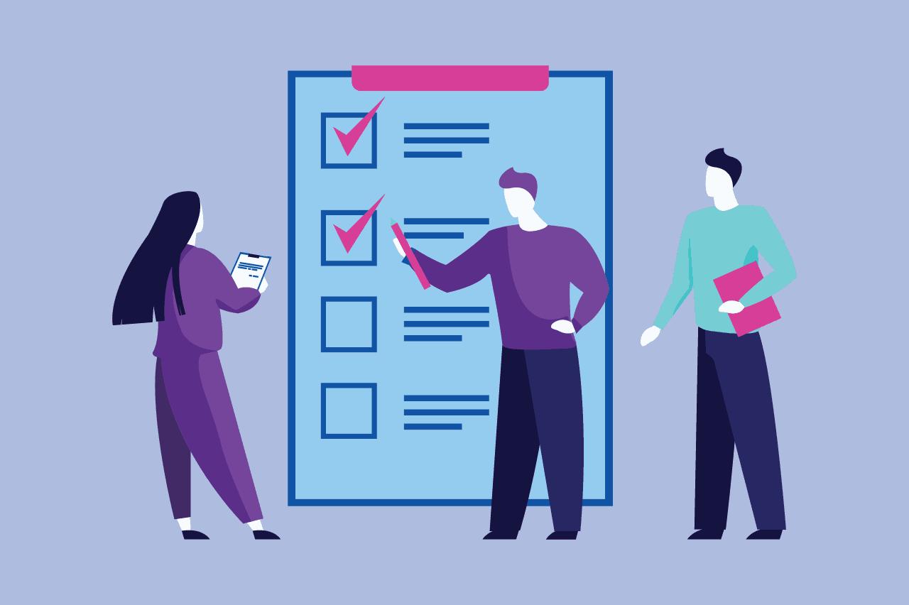 ilustração sobre erros na avaliação de desempenho