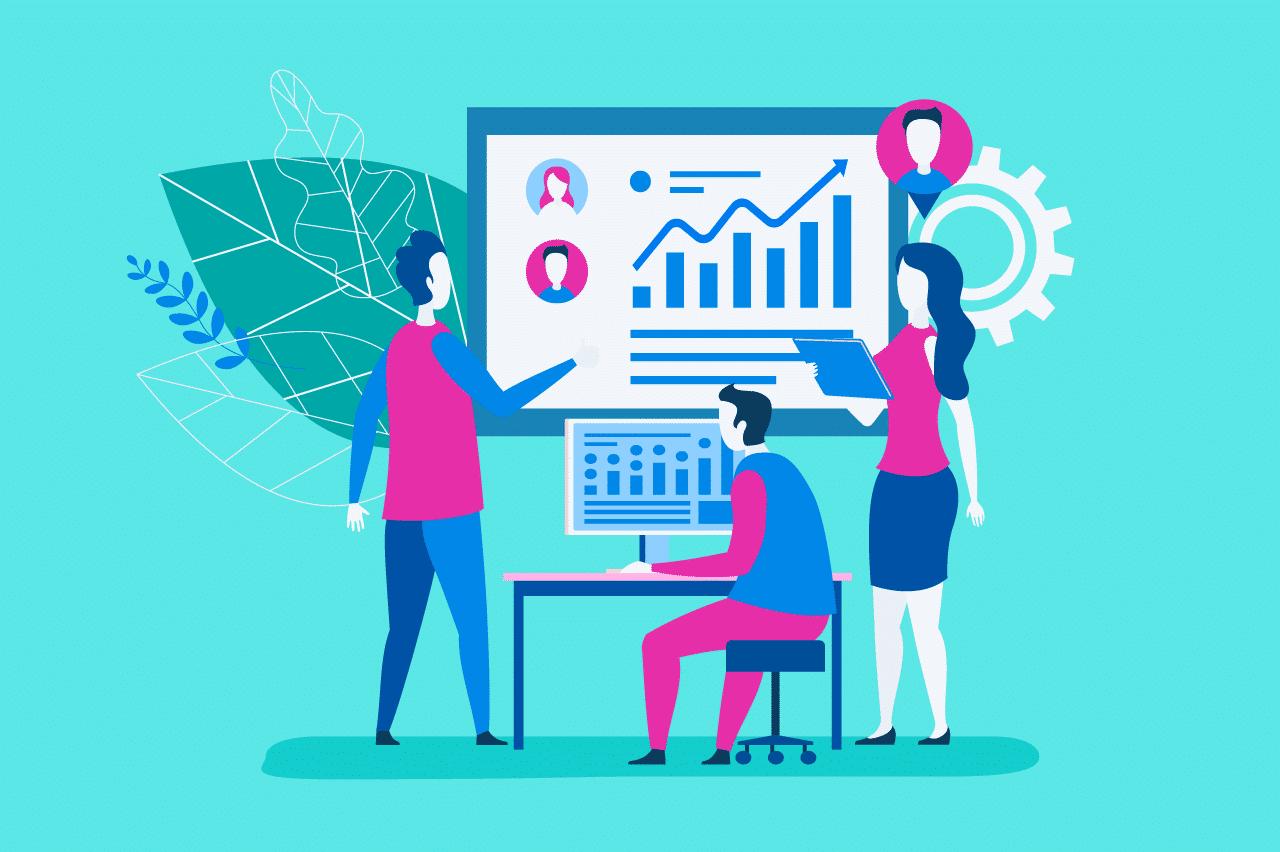 ilustração sobre gestão por competências