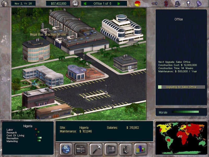 jogos de empreendedorismo - The Corporate Machine
