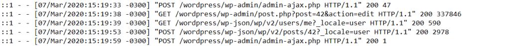 Log File Apache