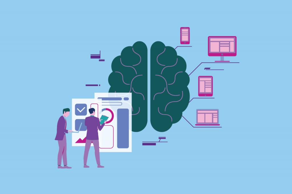 ilustração sobre marketing cognitivo