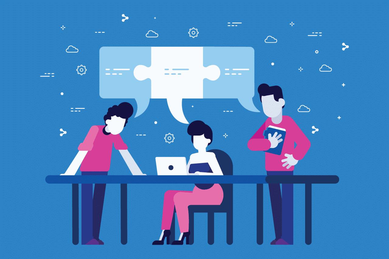 ilustração sobre marketing resource management