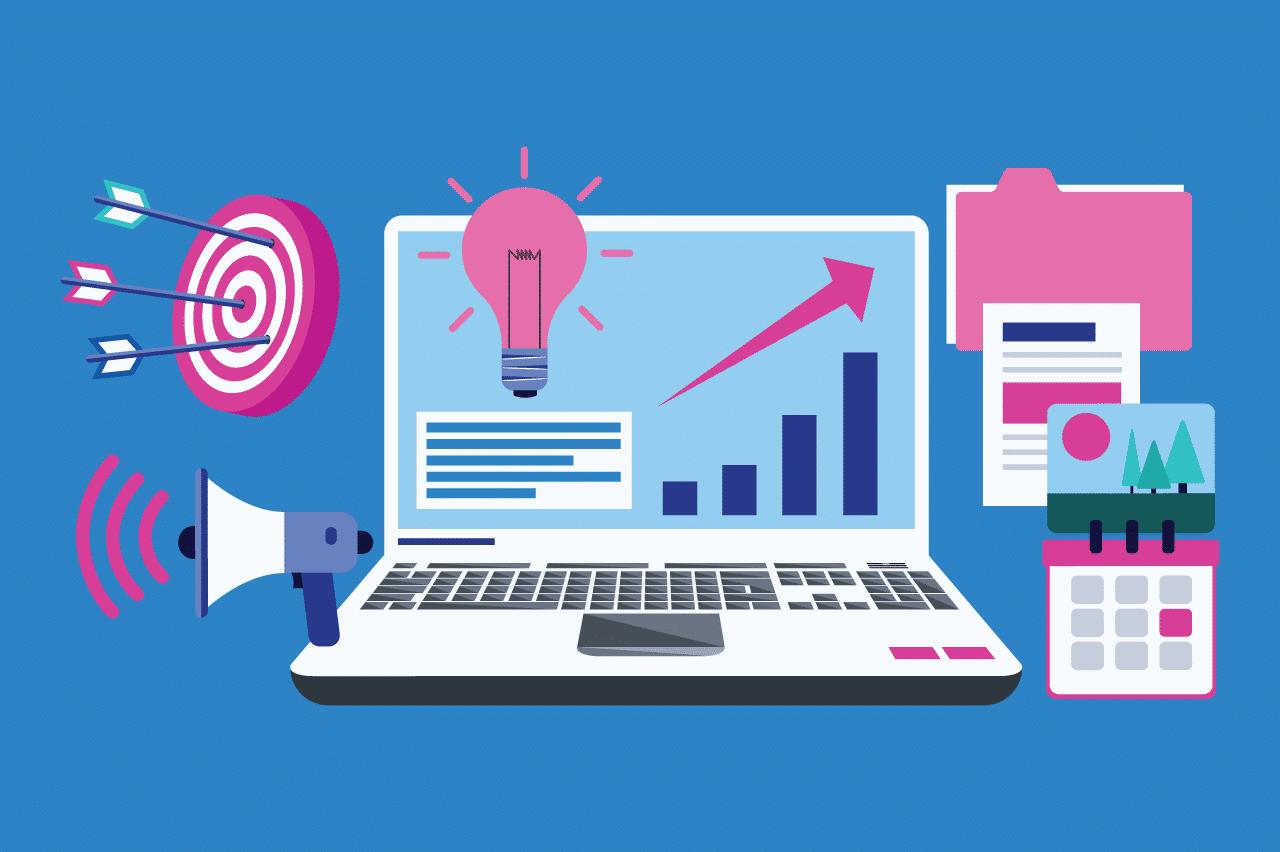 ilustração sobre tendências organizacionais