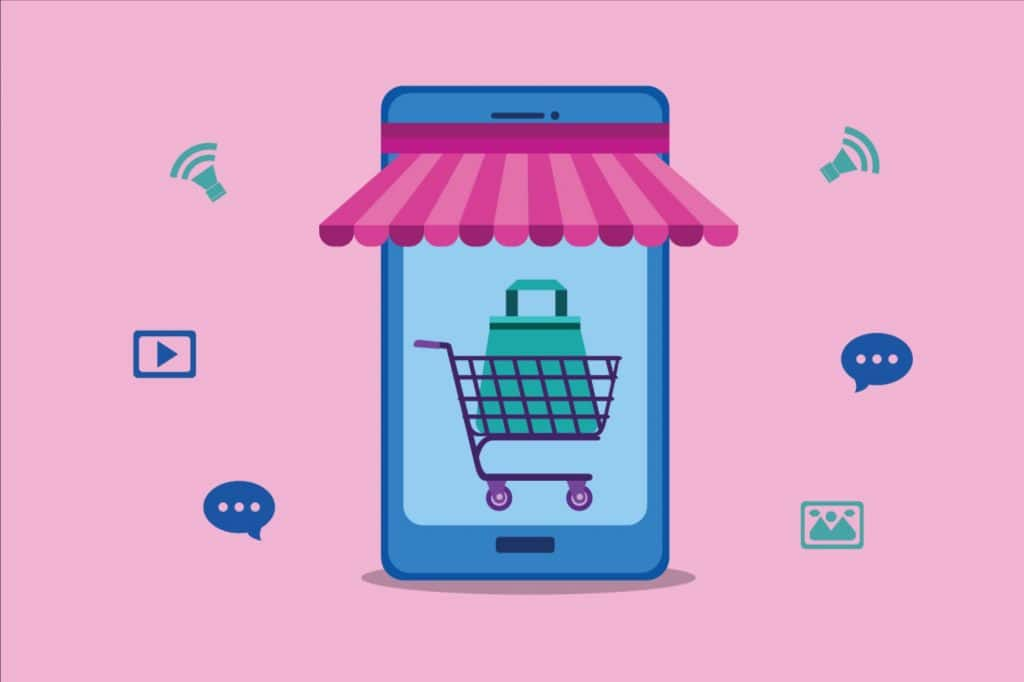 agências lojas virtuais