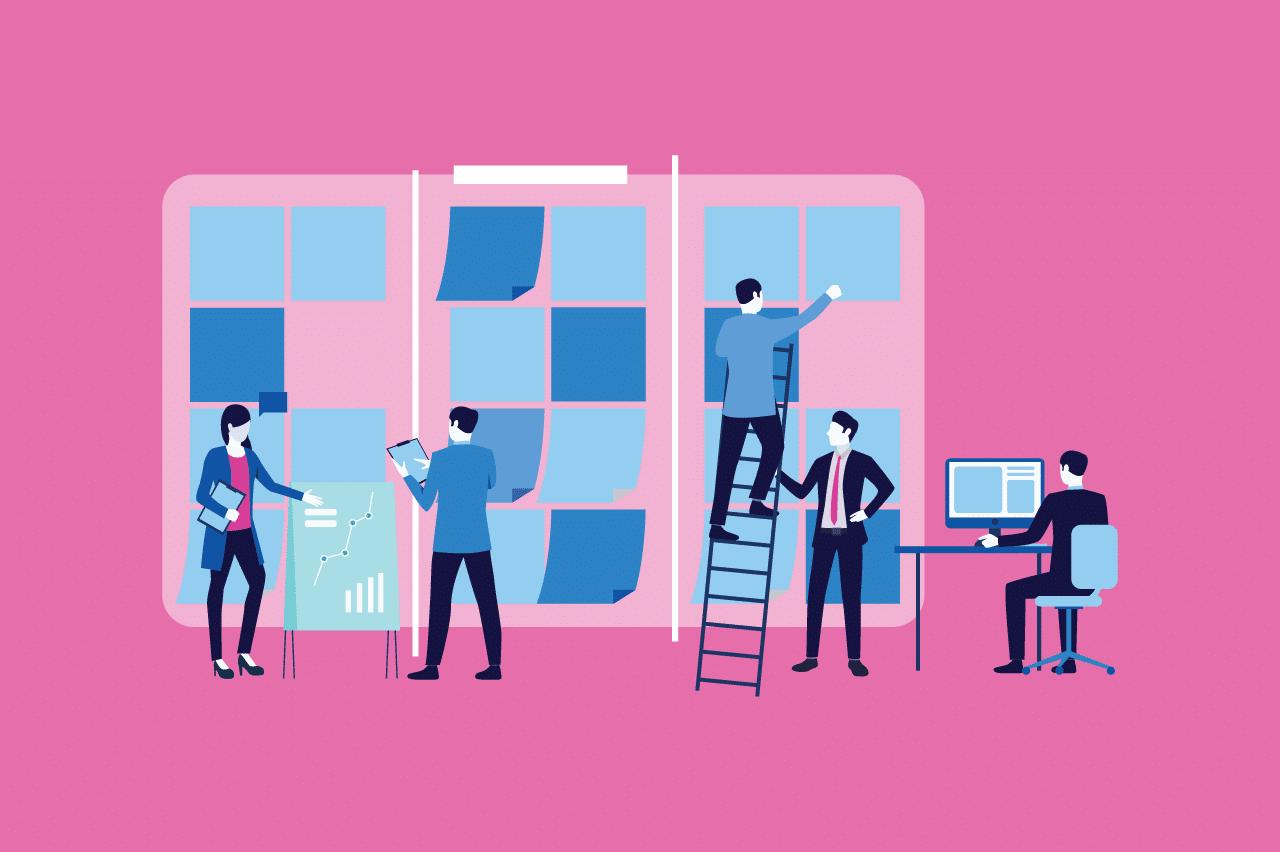 ilustração sobre agilidade operacional