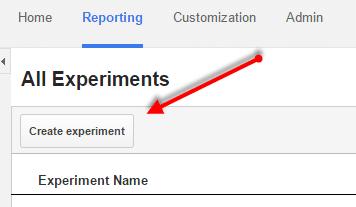 Experimentos no Google Analytics