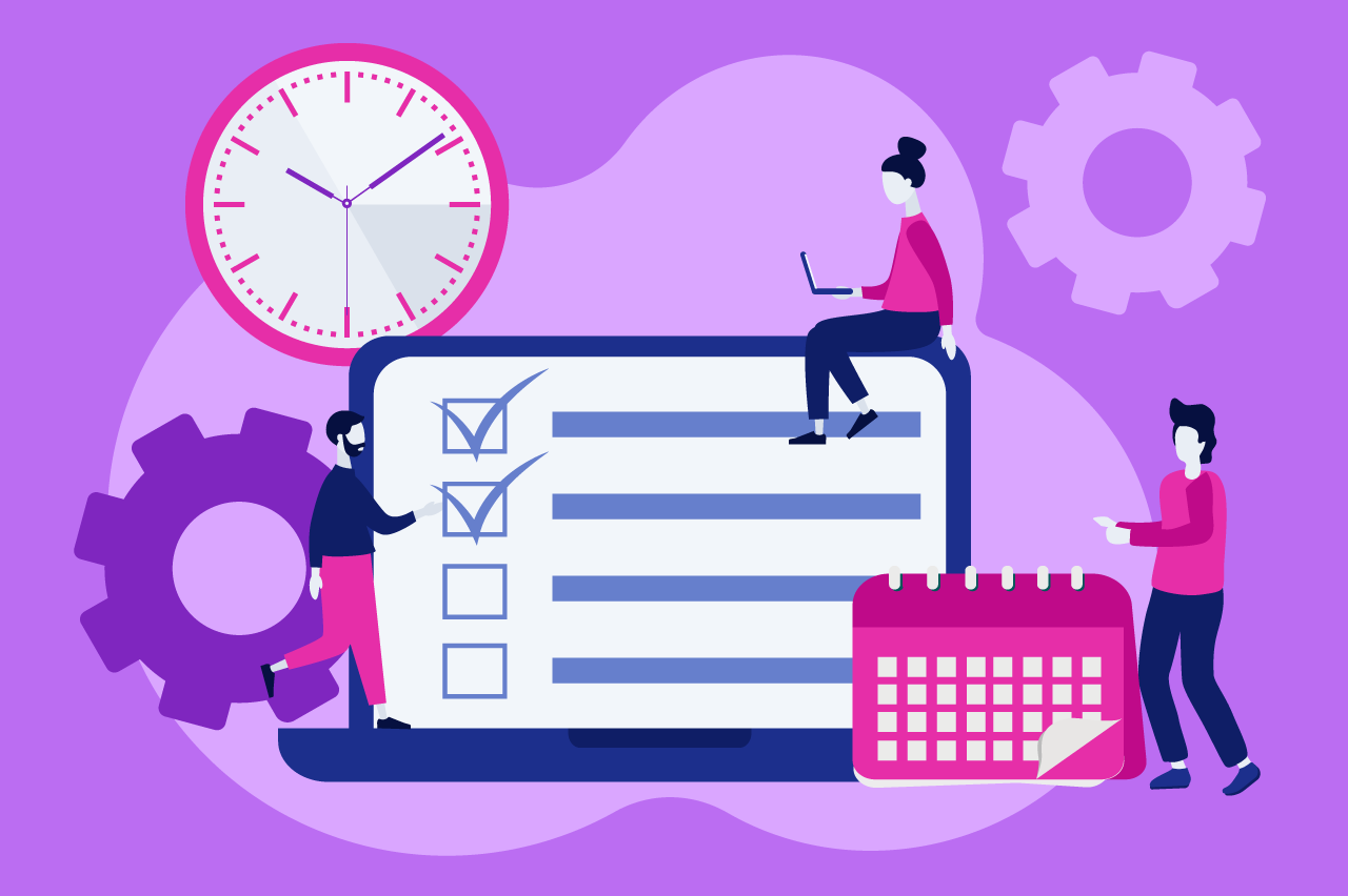 ilustração sobre como priorizar tarefas