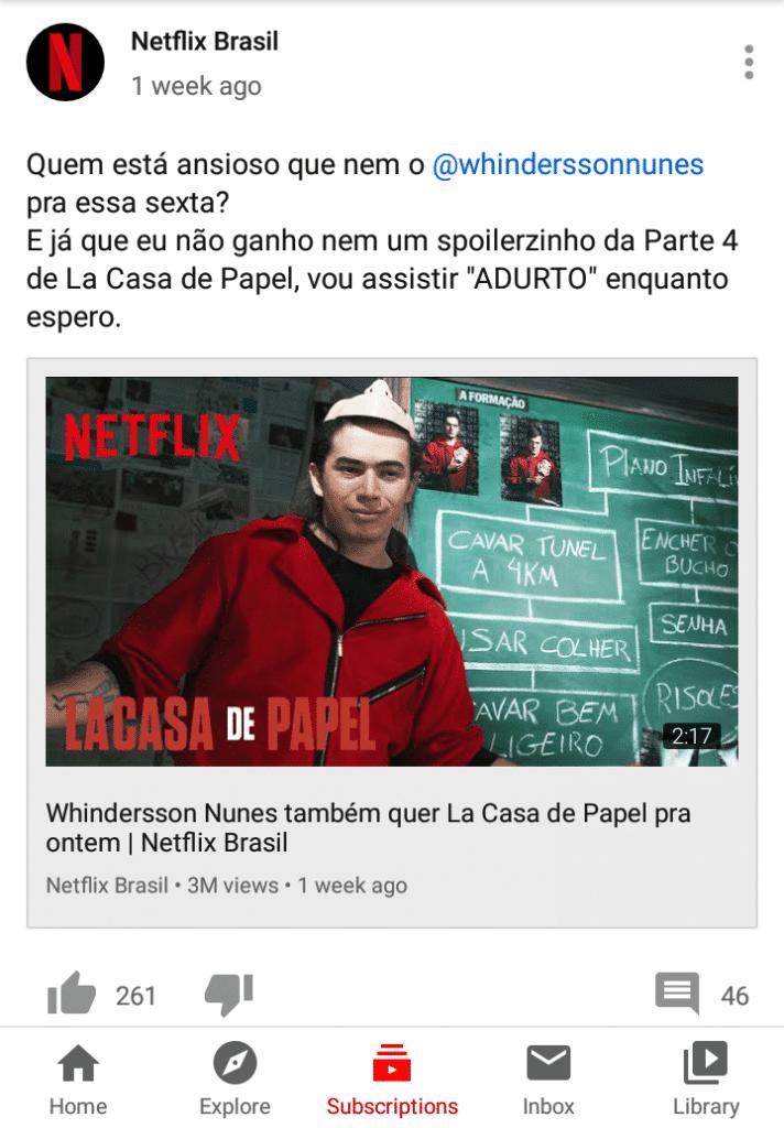 Comunidade da Netflix