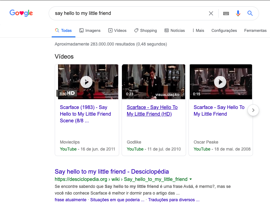 Busca semântica no Google