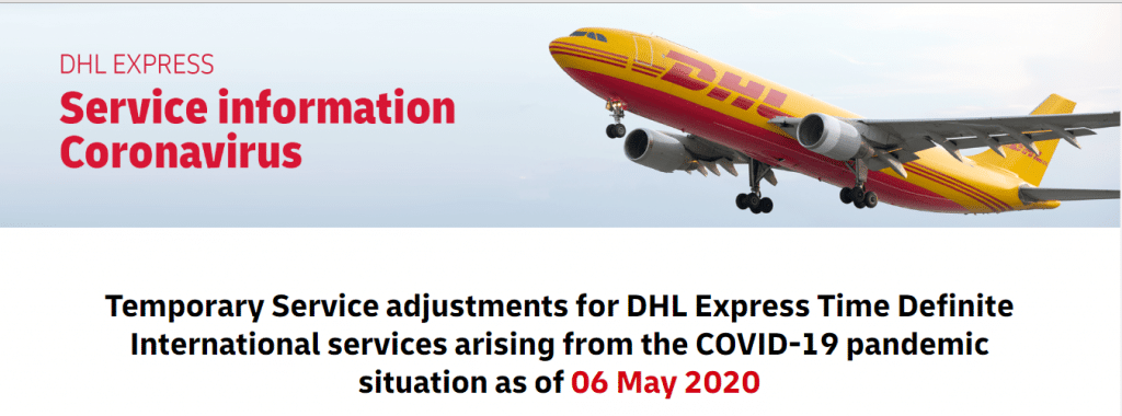 DHL Express case Ion